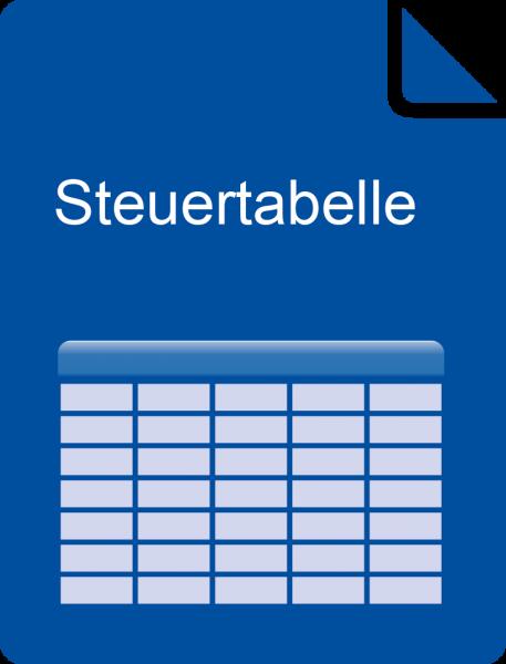 E-Book Steuertabelle