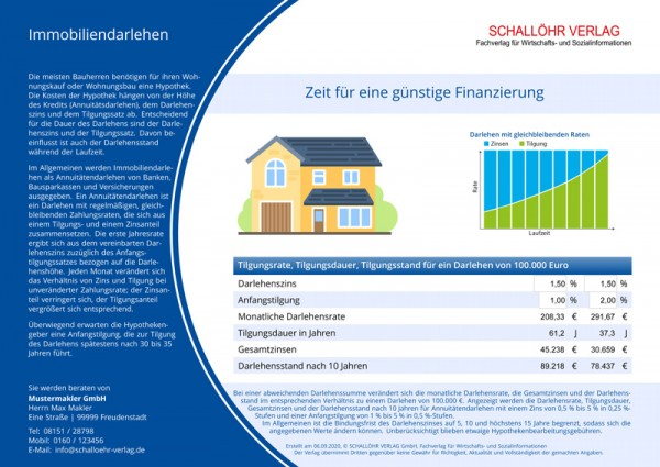 SV-Formular Hypothekentilgung