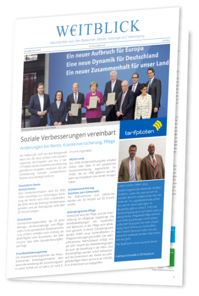Kundenzeitung WEITBLICK